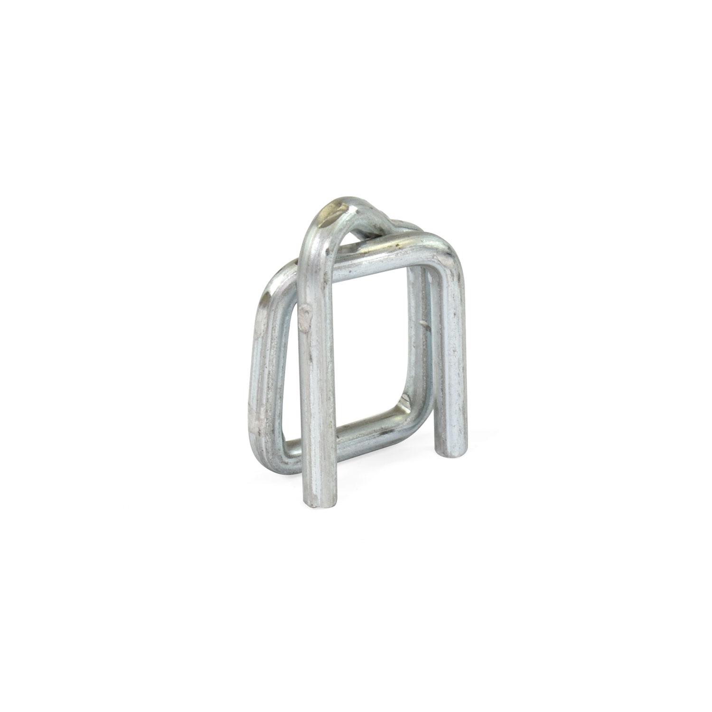 Productos Paletización Fleje y accesorios Carros y accesorios de flejado Hebillas metálicas galvanizadas